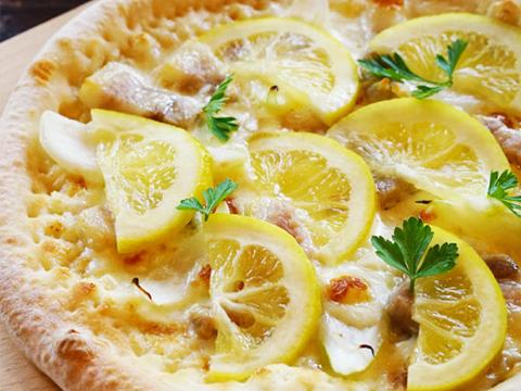 淡路島レモンのパンナリモーネ