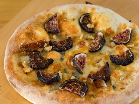 無花果のピザ